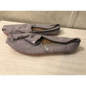 Womens Toms Purple Shoes Sz 7